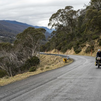 Kosciusko National Park, winter, cycle touring
