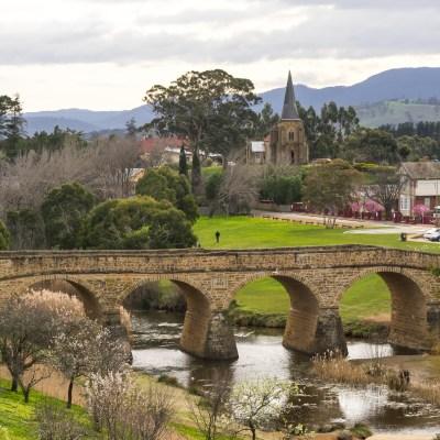 oldest bridge in Tasmania Richmond bridge