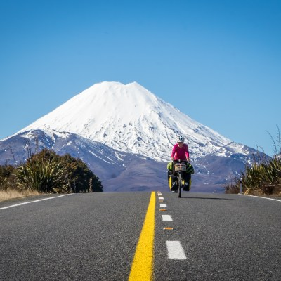 Cycle touring New Zealand