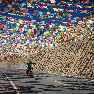 cycle touring, cycling the roof of the world, tibetan plateau, china