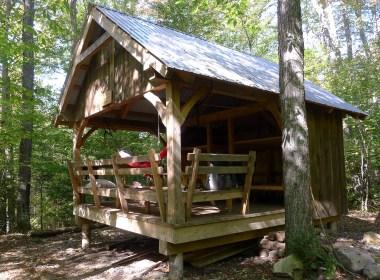 Little Rock Pond Shelter