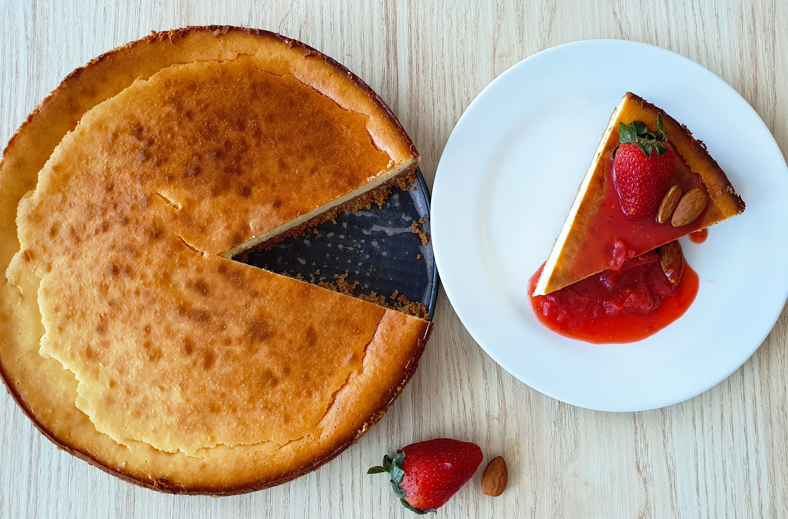 Best Easy Baked Cheesecake Recipe 1