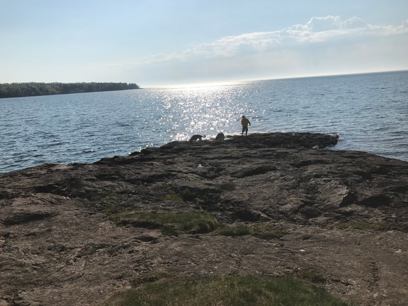 Burlington Bay Campground in Two Harbors, MN on Lake Superior