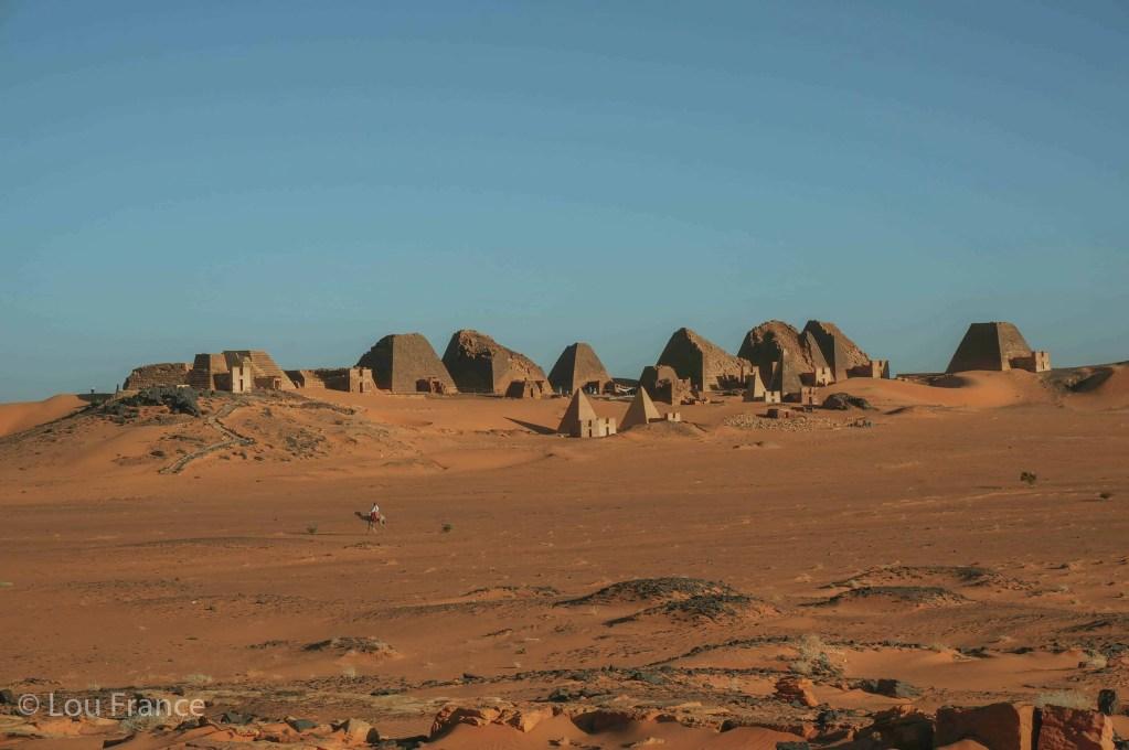 Meroe pyramids in Sudan is a fabulous off the beaten path destination