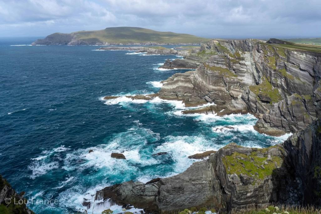 Cliffs on the west coast of Ireland