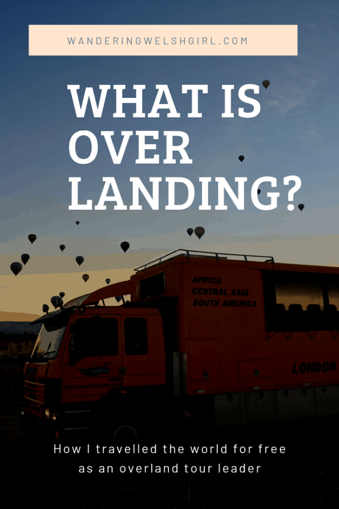 What is overlanding is a question I hear a lot. In this post I define overland travel and explain how I became an overland adventure tour leader