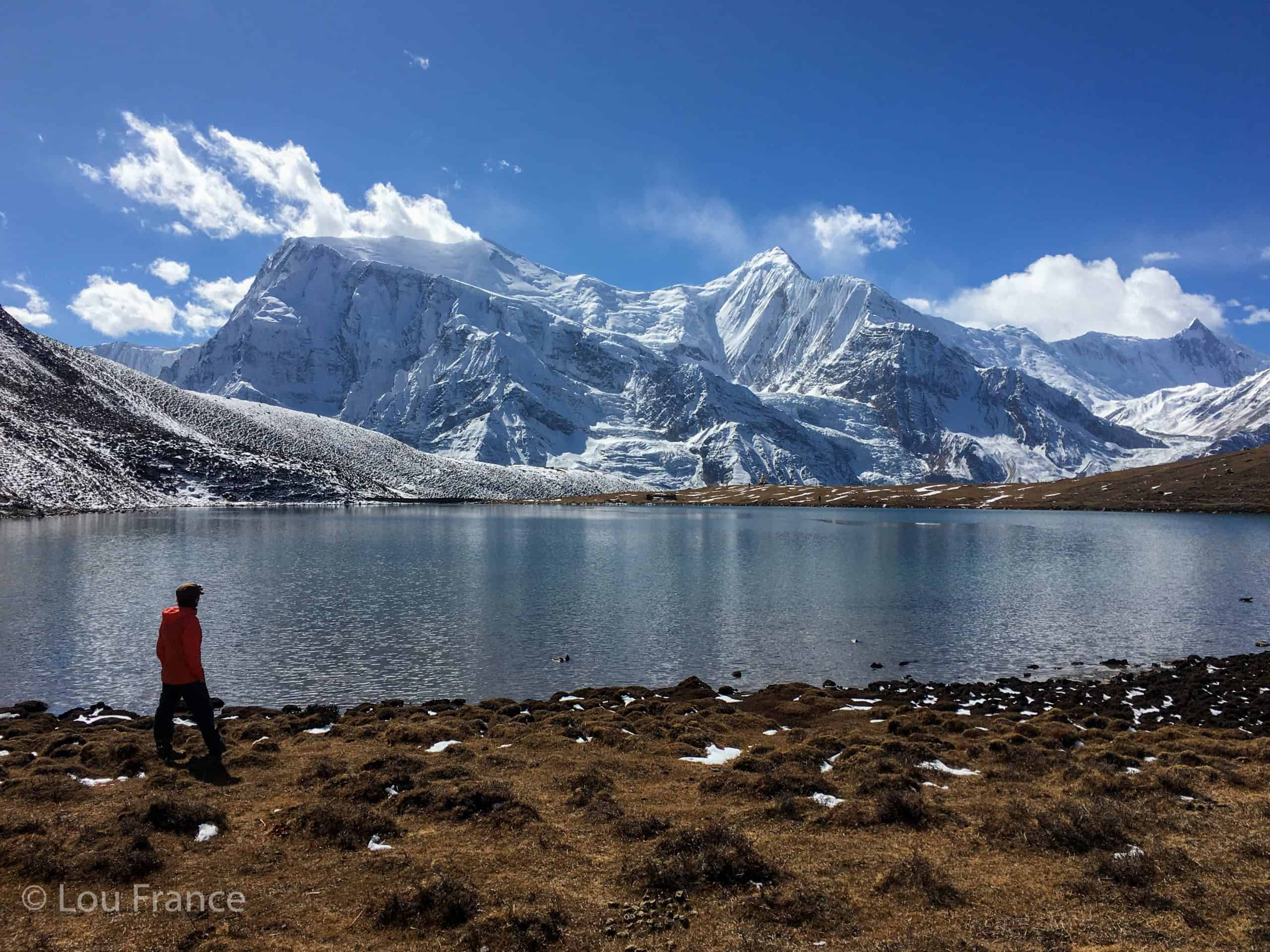 Travellers Hiking Guide: Ice Lake Manang Trek
