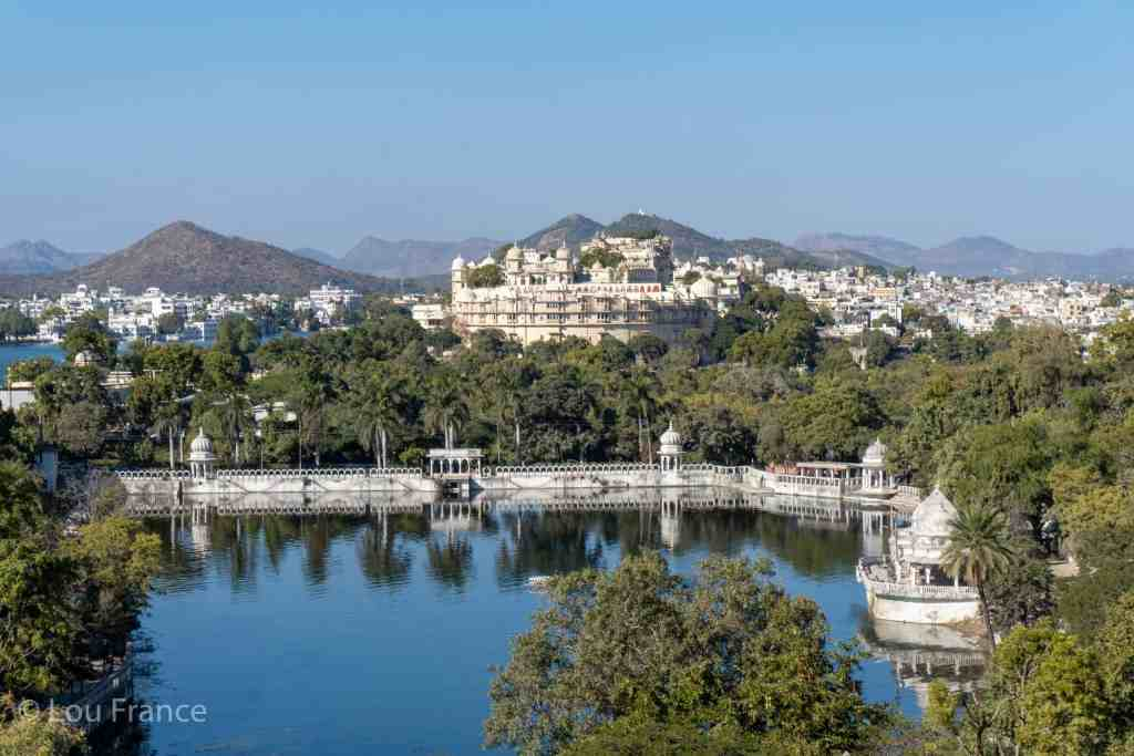 Beautiful scenery is easy on a trip to Udaipur