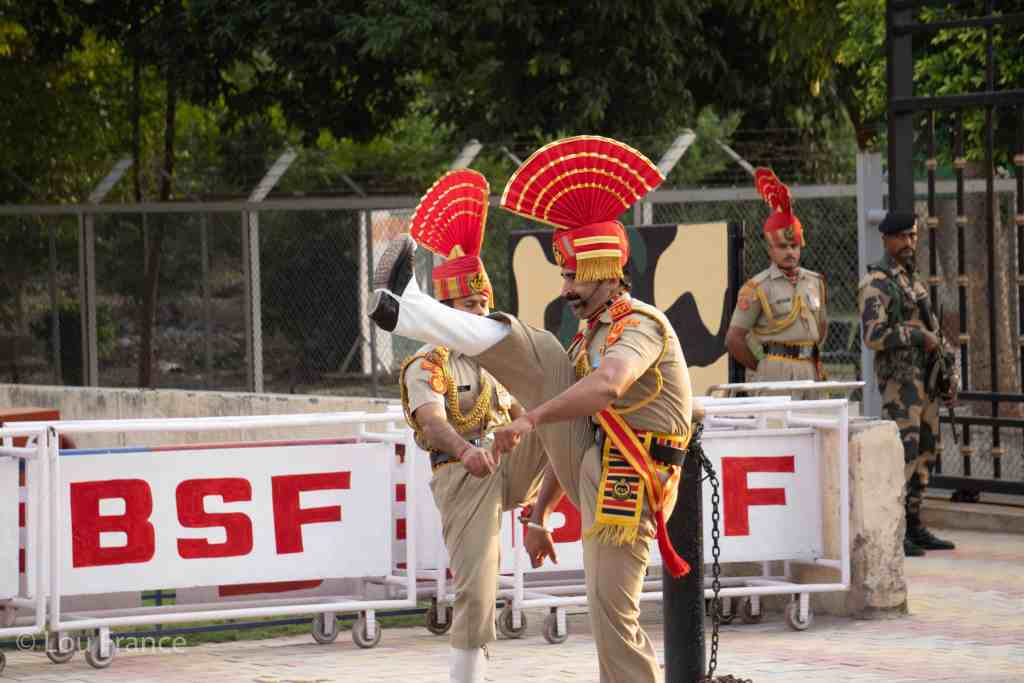 Watching the uniquely Indian experience of the wagah border ceremony