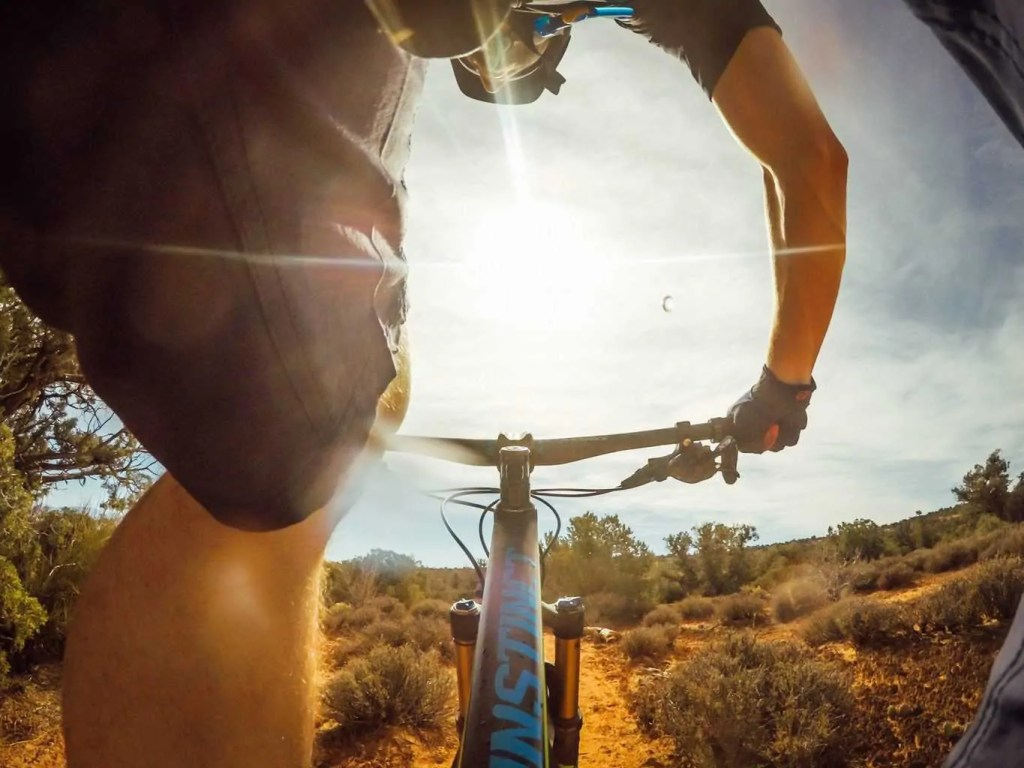 Mountain biking is one of the best things to do in Moab