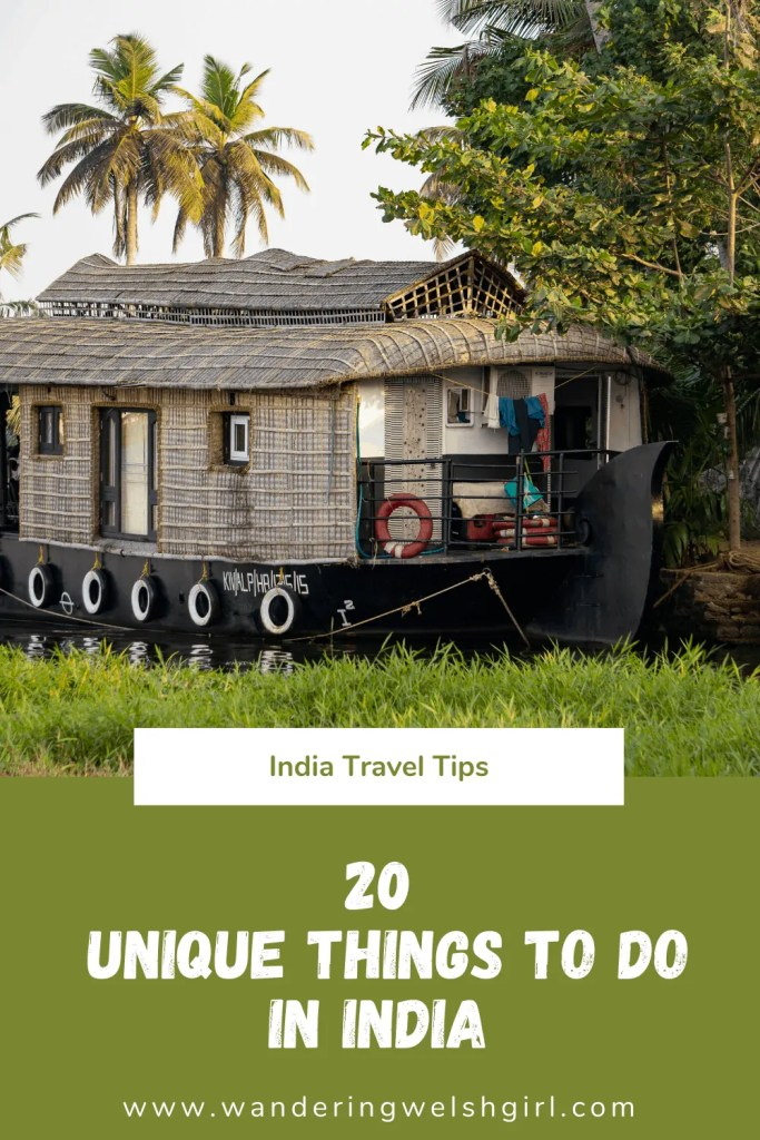 In this article I describe 20 unique Indian experiences to help you discover India.