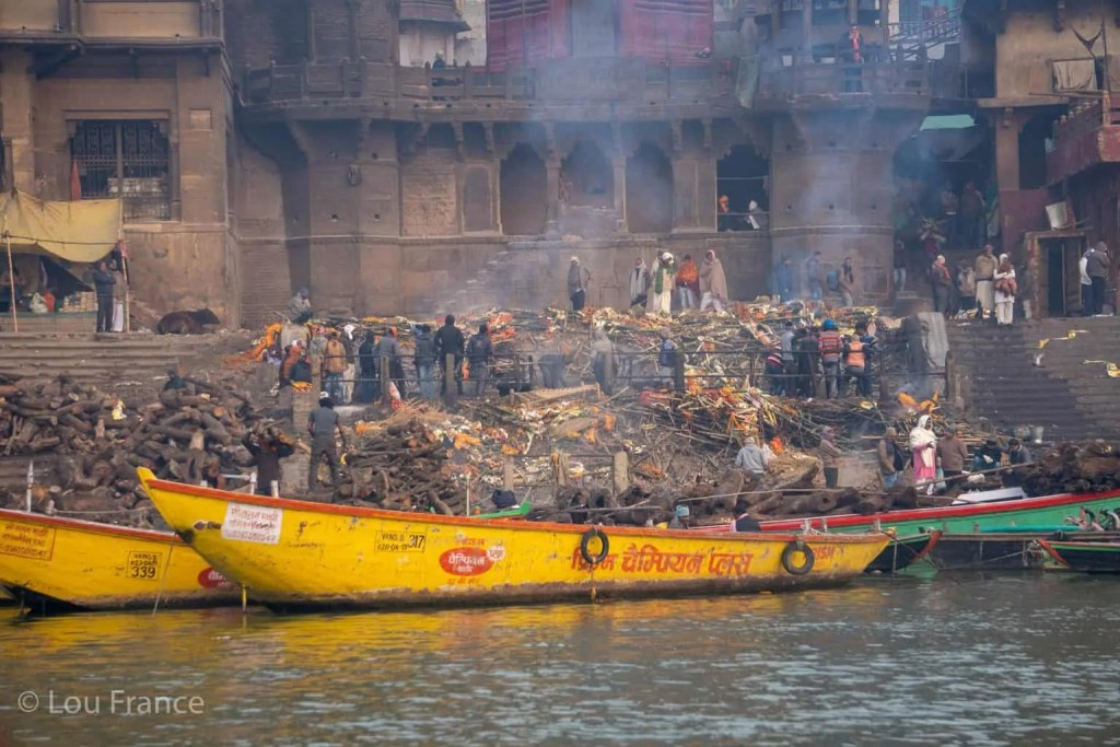 The funeral ghats in Varanasi are a popular dark tourism destination in India