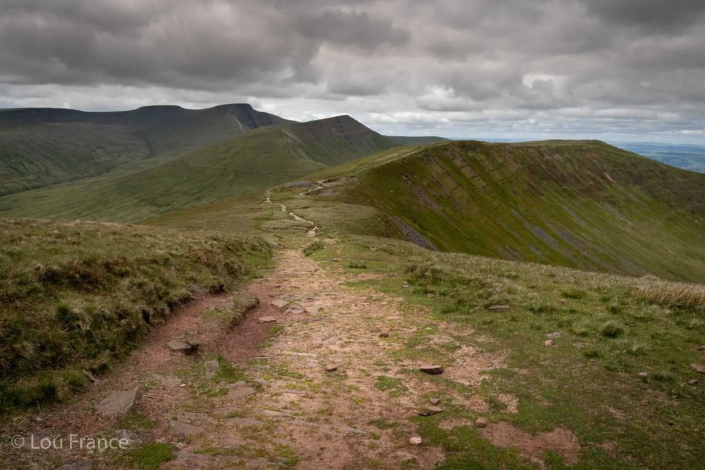 The Pen y fan horseshoe is arguably the best Brecon Beacons walk
