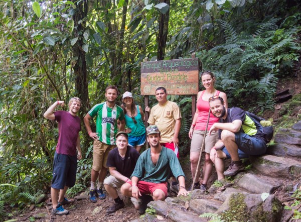 Our hiking crew for Ciudad Perdido, Colombia by Wandering Wheatleys