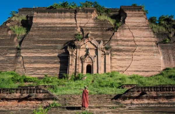 Mingun Pagoda, Myanmar by Wandering Wheatleys
