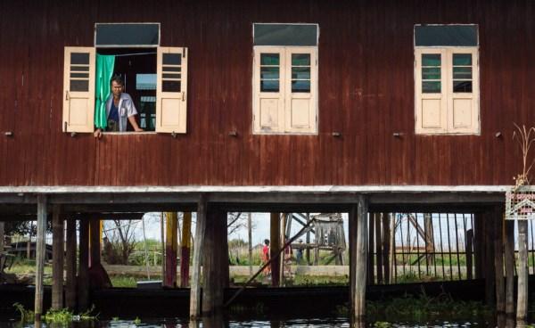 Stilt House on Inle Lake, Myanmar by Wandering Wheatleys