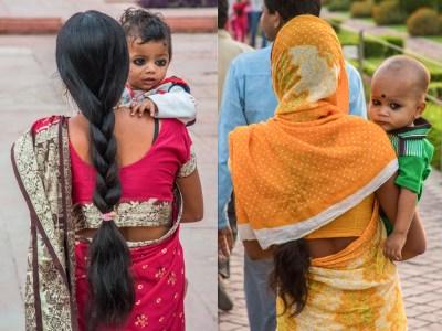 Babies Wearing Kajal Eye Makeup in India