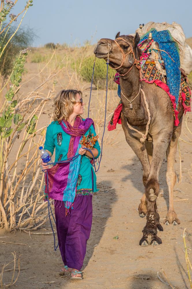 Camel Trek, Jaisalmer, India