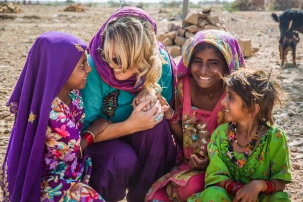 Muslim Girls, Jaisalmer, India