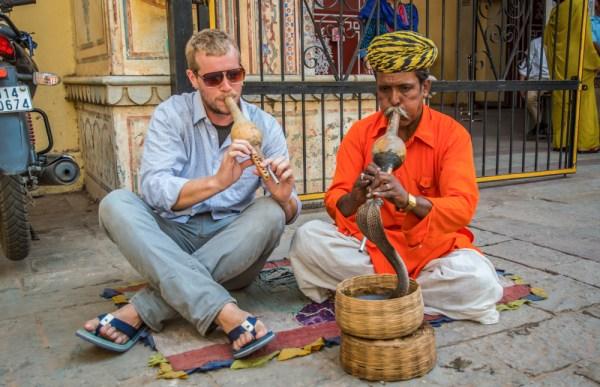 Snake Charmer, Jaipur, India