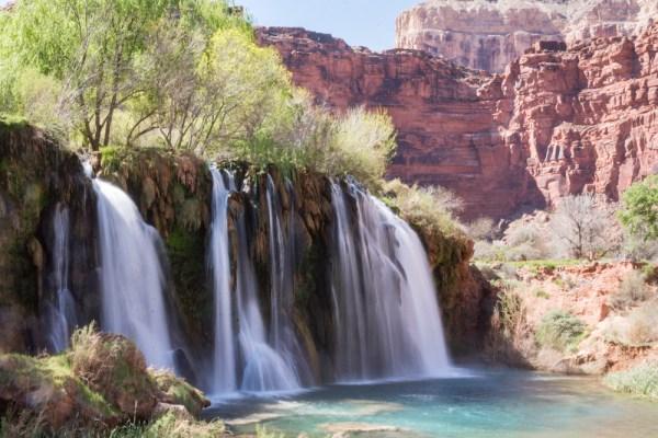 Fifty Foot Falls, Havasu Canyon, Arizona by Wandering Wheatleys
