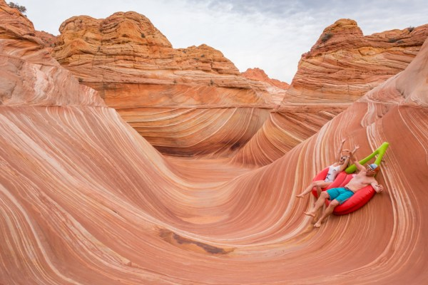Riding The Wave, Arizona by Wandering Wheatleys