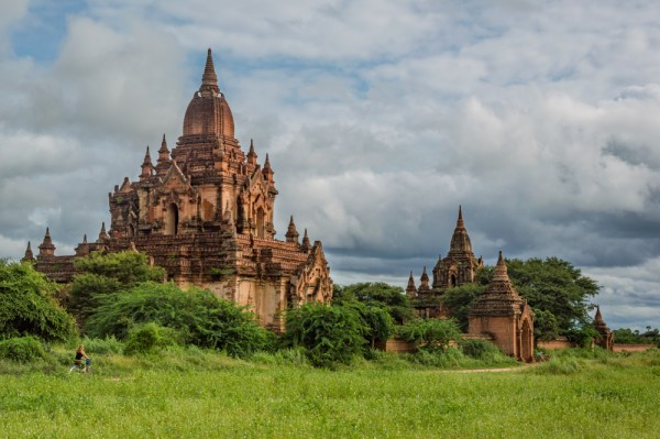 Bike through the temples of Bagan, Myanmar by Wandering Wheatleys
