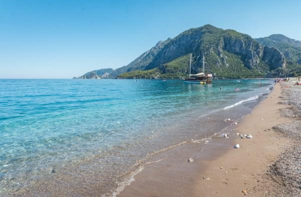 Pristine Cirali Beach in Turkey by Wandering Wheatleys