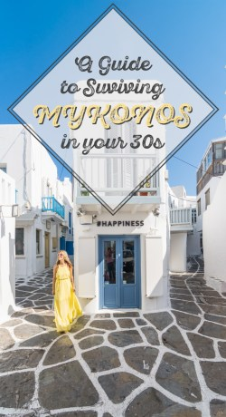 A Guide to Surviving Mykonos in your 30s by Wandering Wheatleys