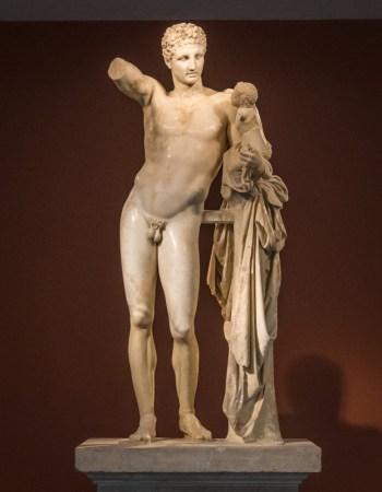 hermes-praxiteles-statue-olympia-greece