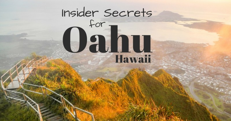 Insider Secrets for Oahu, Hawaii by Wandering Wheatleys