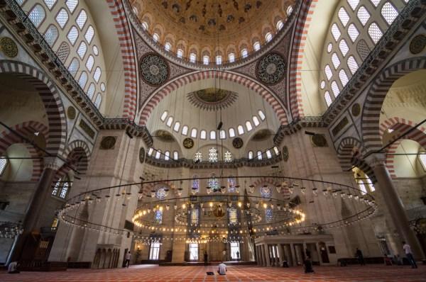 Suleymaniye Mosque in Istanbul, Turkey by Wandering Wheatleys