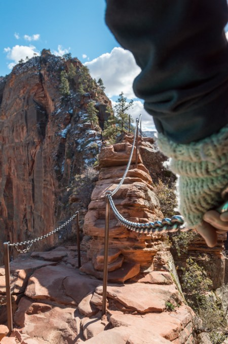 Hiking Angels Landing in Zion National Park, Utah by Wandering Wheatleys