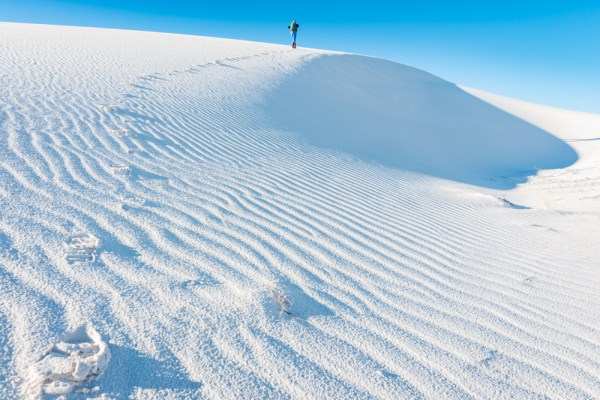 Hiking in White Sands National Monument, New Mexico by Wandering Wheatleys