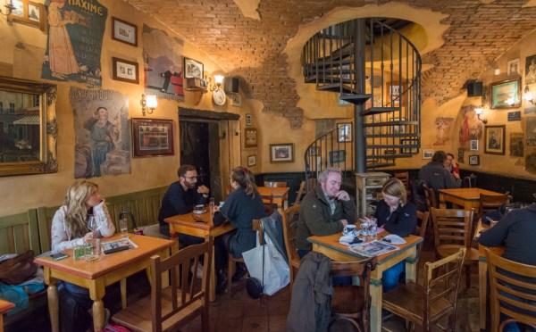 Le Petit Cafe, Ljubljana, Slovenia by Wandering Wheatleys