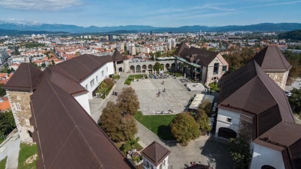 Ljubljana Castle, Slovenia by Wandering Wheatleys