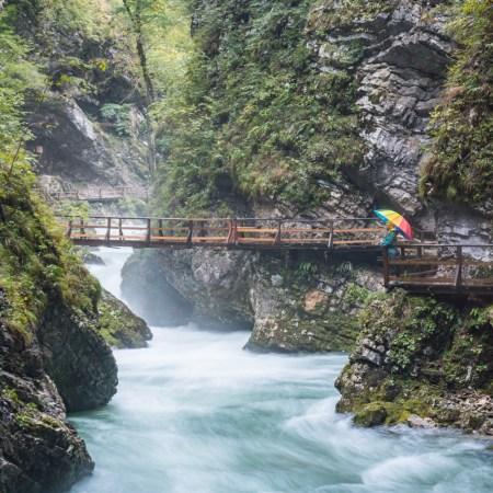 Vintgar Gorge, Slovenia by Wandering Wheatleys