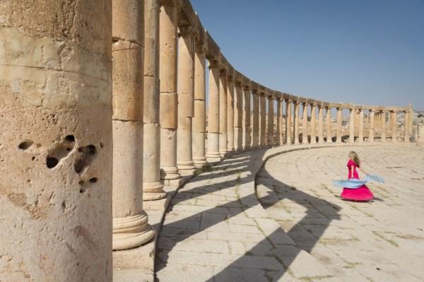 Ancient Ruins of Jerash, Jordan by Wandering Wheatleys