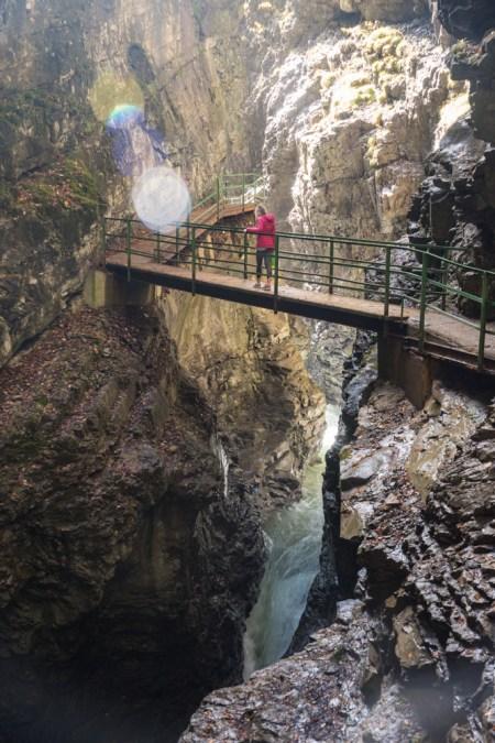 Breitachklamm, Gorge, Oberstdorf, Germany by Wandering Wheatleys