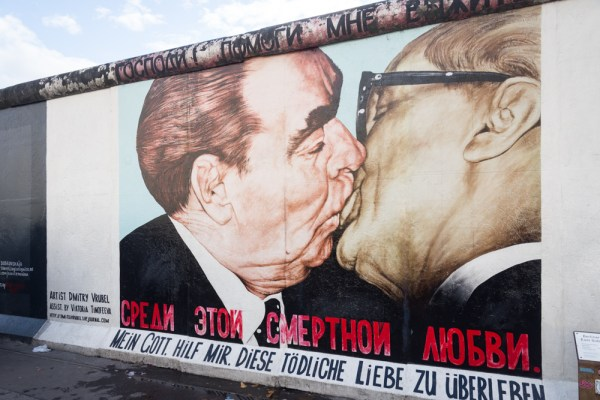 My God, Help Me Survive This Deadly Love at the East Side Gallery, Berlin, Germany by Wandering Wheatleys