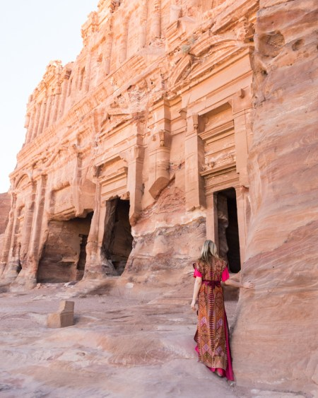 Explore the Royal Tombs in Petra, Jordan by Wandering Wheatleys