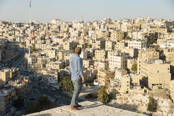 Views of Amman from the Citadel, Jordan by Wandering Wheatleys