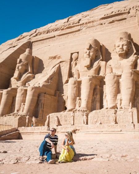 Abu Simbel Temple, Egypt by Wandering Wheatleys