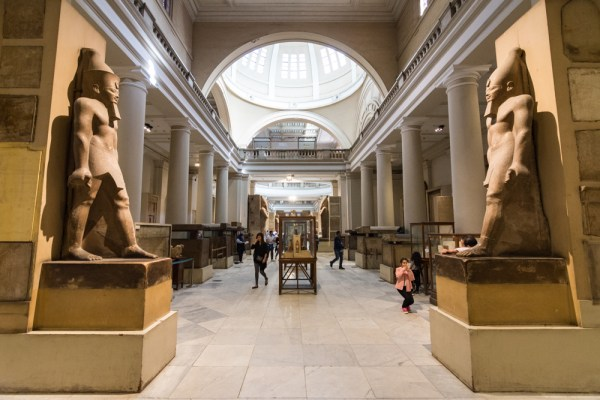 The Egyptian Museum, Cairo, Egypt by Wandering Wheatleys