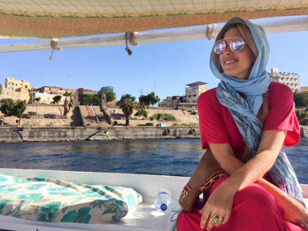 Felucca ride on the Nile by Wandering Wheatleys