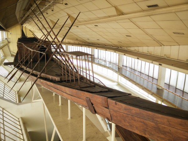 Khufu Boat Museum, Giza, Egypt