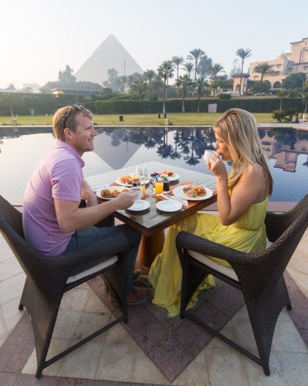 Breakfast at Mena House, Giza, Egypt by Wandering Wheatleys