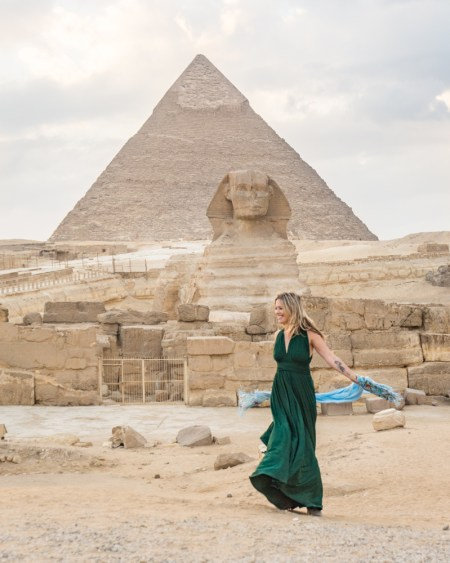 Great Pyramids of Giza, Egypt by Wandering Wheatleys