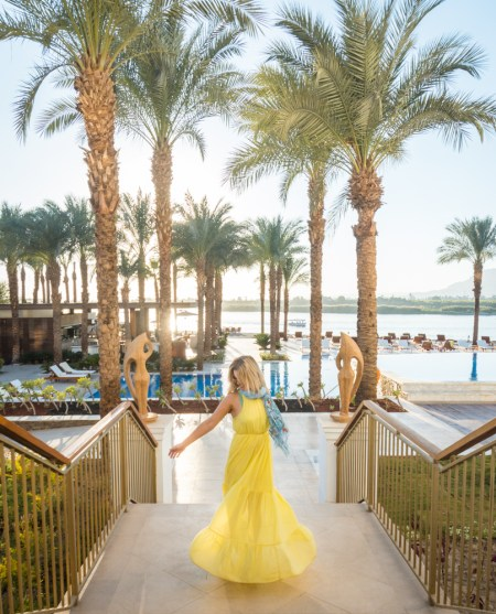 Luxory at the Hilton Luxor, Egypt by Wandering Wheatleys