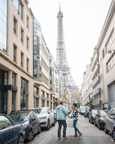 Eiffel Tower in Paris, France by Wandering Wheatleys